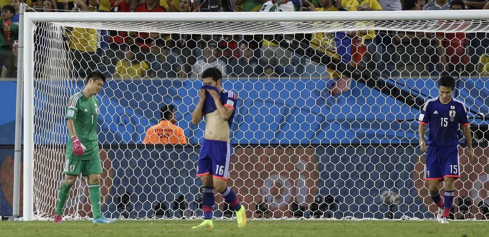 Alberto Zaccheroni's Japan has a night to forget against Colombia