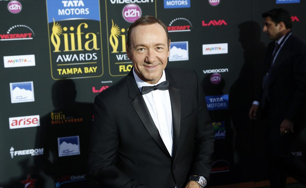 Kevin Spacey rubbishes rumours that he is the villain in James Bond 24