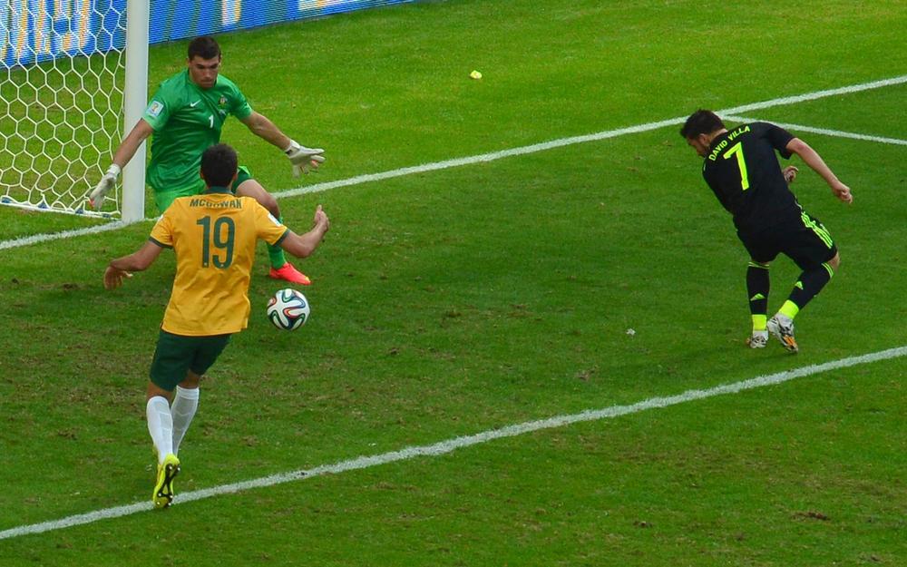 Ange Postecoglou's battling Australia run out of steam against Spain