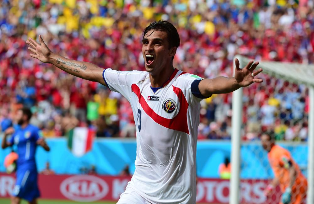 Fulham's Bryan Ruiz kills England's World Cup hopes with goal for Costa Rica against Italy?