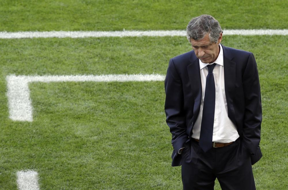 Greece manager Fernando Santos must make big changes after Colombia disaster