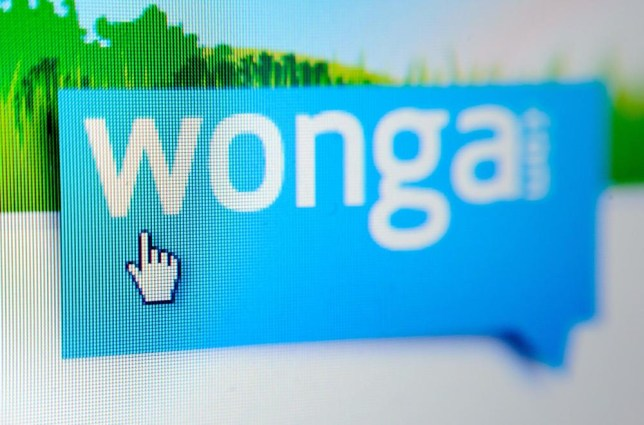 File photo dated 16/12/12 of the website of payday loan company Wonga which has defended its record ahead of an expected grilling by MPs. PA Wire/Press Association Images