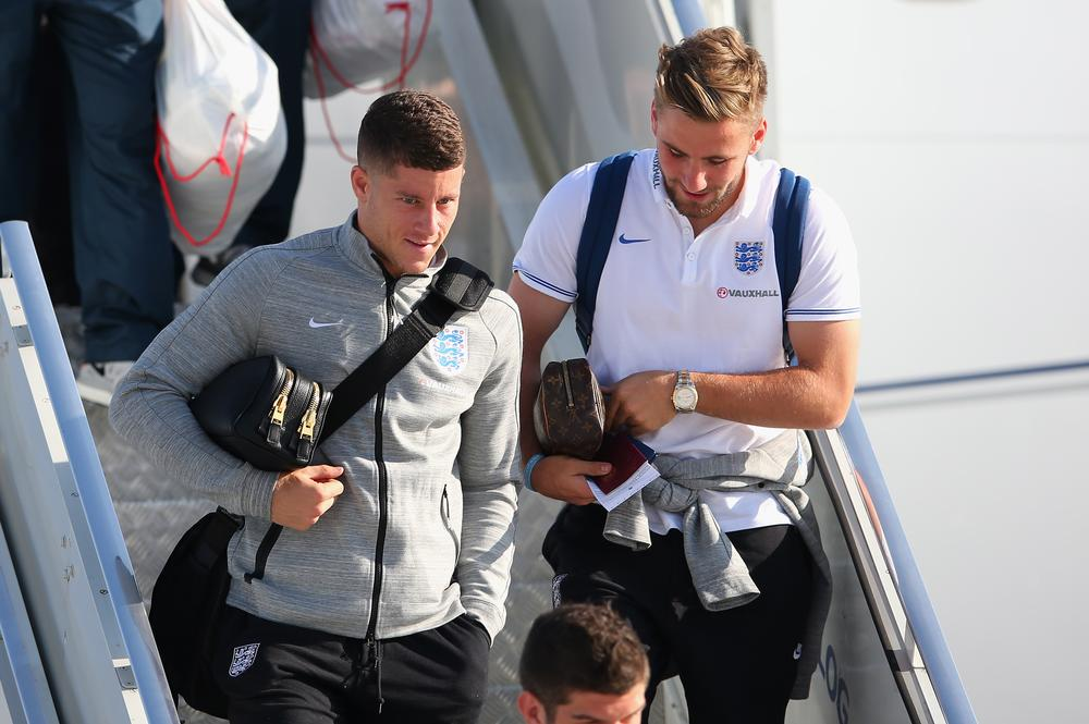 Ross Barkley misses England coach for first training session in Brazil