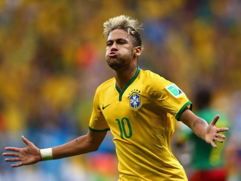 Neymar makes it four goals in three games as Brazil battle with  Cameroon