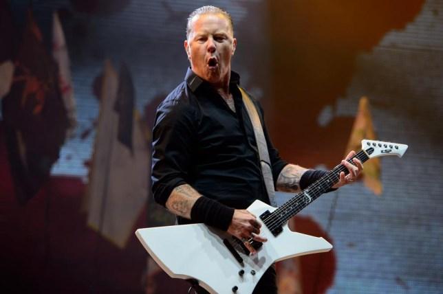 Metallica Glastonbury 2014