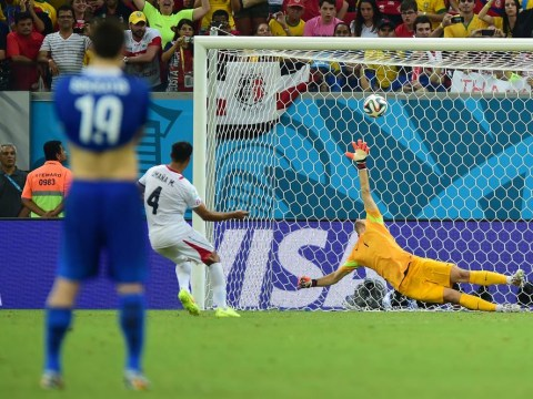 Is this the best World Cup ever? 10-man Costa Rica beat Greece on penalties to reach last eight
