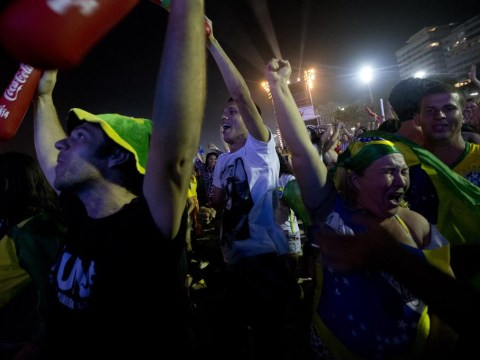 Want to know what the streets sound like when Brazil score?