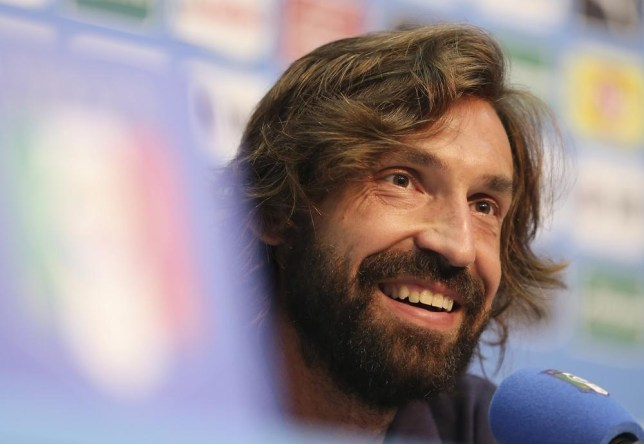 Italy's Andrea Pirlo smiles during a press conference at the Casa Azzurri in Mangaratiba, Brazil, Wednesday, June 11, 2014. Italy will play in group D of the Brazil 2014 soccer World Cup. (AP Photo/Antonio Calanni) AP Photo/Antonio Calanni