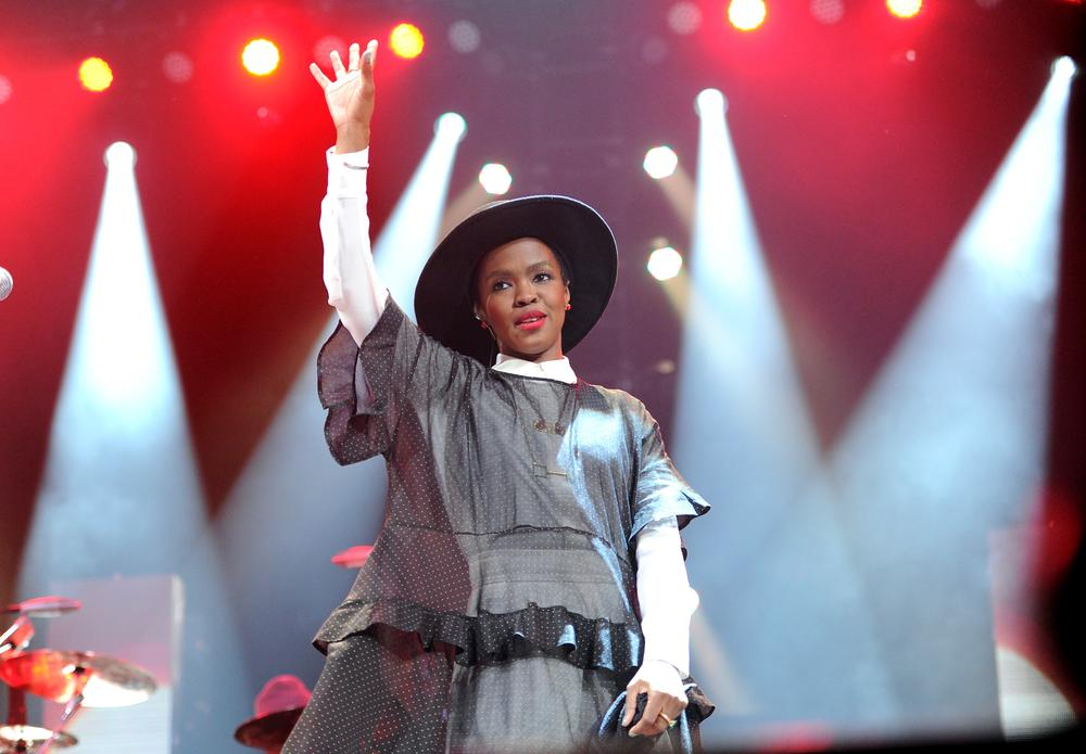 """Singer Lauryn Hill performs at Amnesty International's """"Bringing Human Rights Home"""" Concert at the Barclays Center on Wednesday, Feb. 5, 2014 in New York. (Photo by Evan Agostini/Invision/AP) Evan Agostini/Invision/AP"""