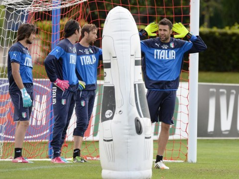 Shoot on sight! England handed a boost as Gianluigi Buffon fails fitness test