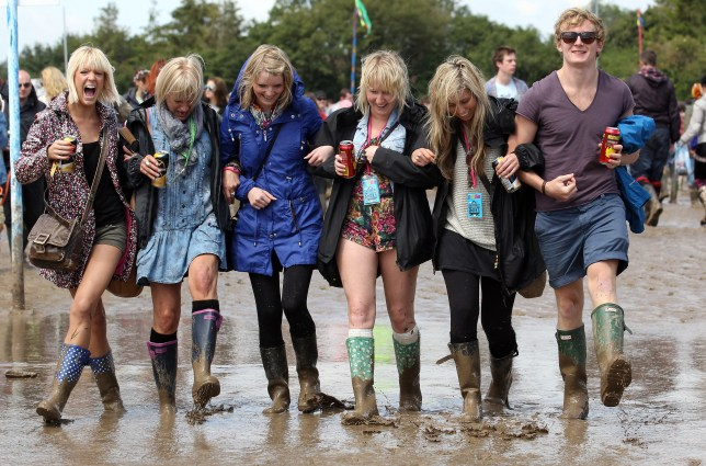 Glastonbury festival, Glastonbury weather, Glastonbury rain