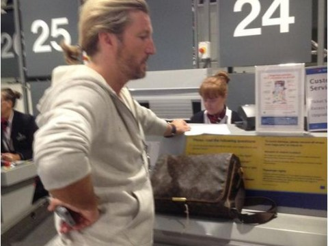 Robbie Savage nearly misses World Cup flight to Brazil after trying to use wife's passport