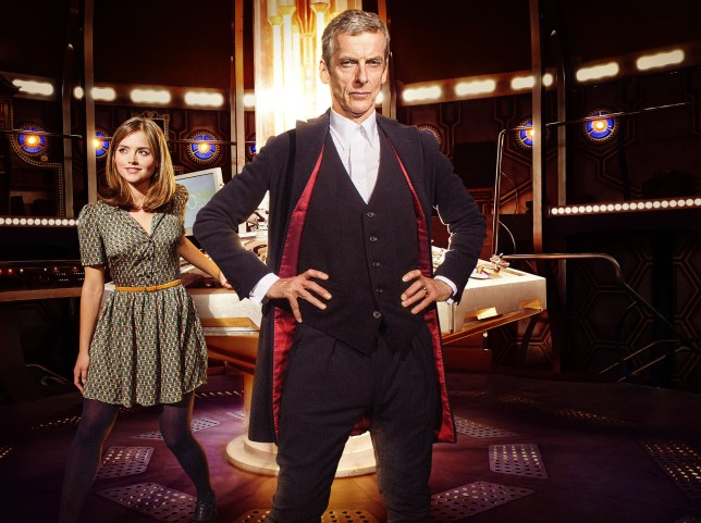 Doctor Who, Peter Capaldi, Jenna Coleman, Deep Breath