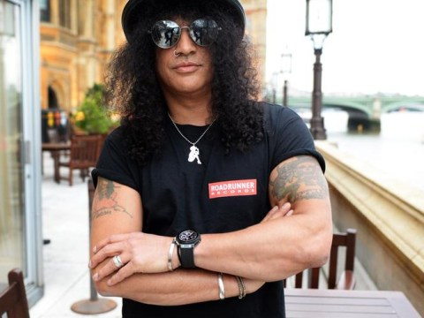 Slash rocks the House of Commons and launches new album in the process