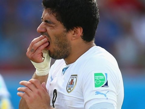 Luis Suarez bite: Evander Holyfield and Russell Brand weigh in to Twitter jokes
