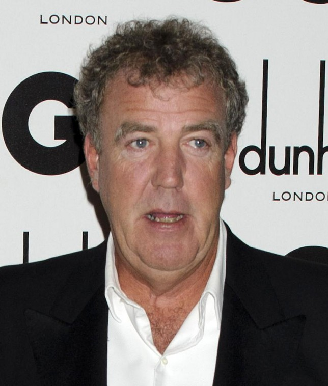 """FILE - In this Sept. 6, 2011 file photo, TV host Jeremy Clarkson arrives for the GQ Men of the Year Awards in London. """"Top Gear"""" host Jeremy Clarkson has apologized and asked for forgiveness following allegations that he used racist language while he was shooting an episode of the popular BBC show. The BBC said Friday May 2, 2014 it is taking the allegations seriously. (AP Photo/Jonathan Short, File) AP Photo/Jonathan Short, File"""