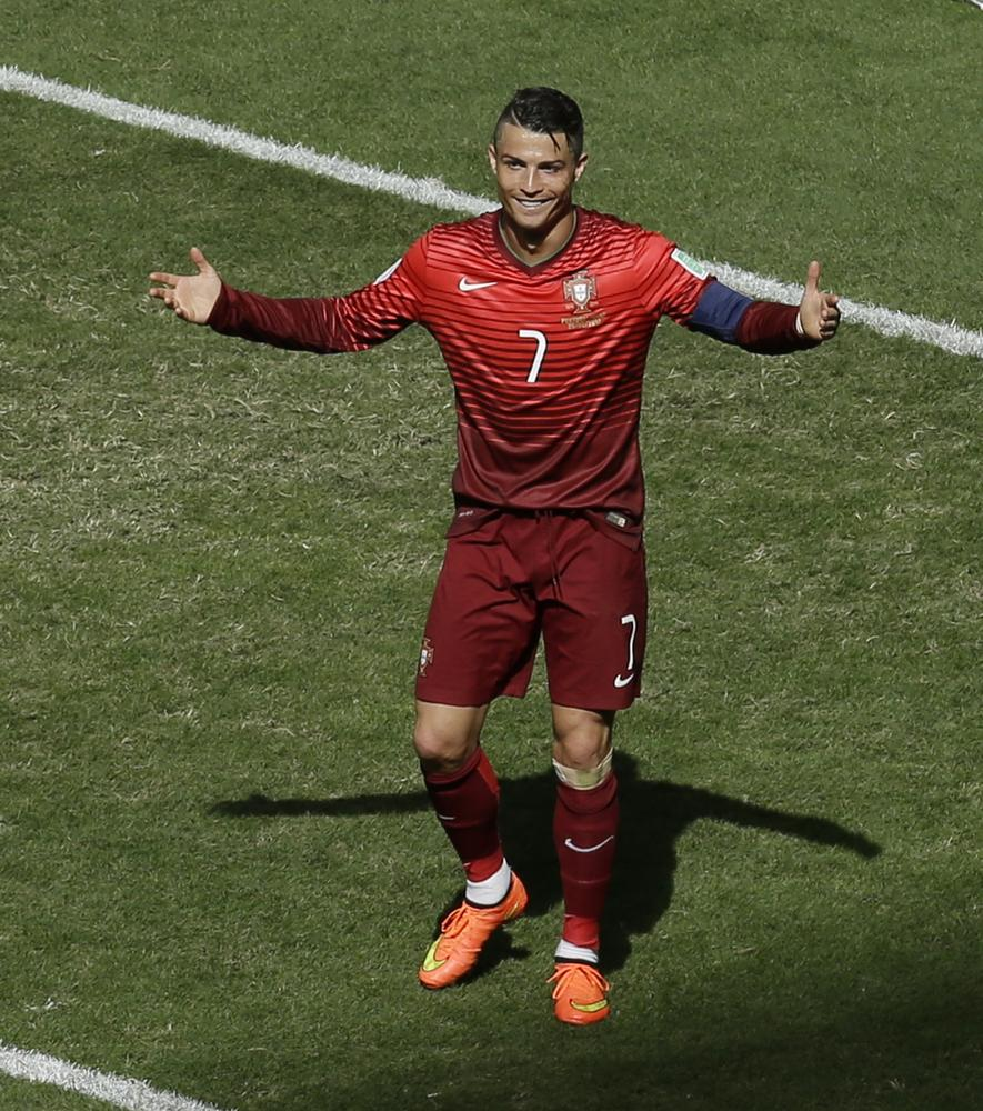 Cristiano Ronaldo finally scores for Portugal – but still not a patch on Lionel Messi