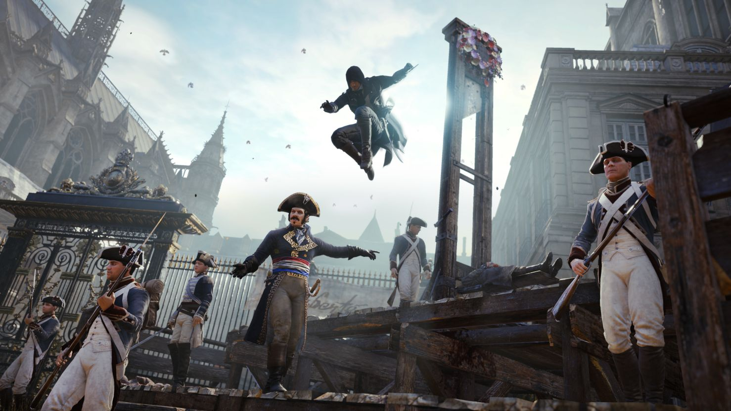 Assassin's Creed Unity - off with their heads