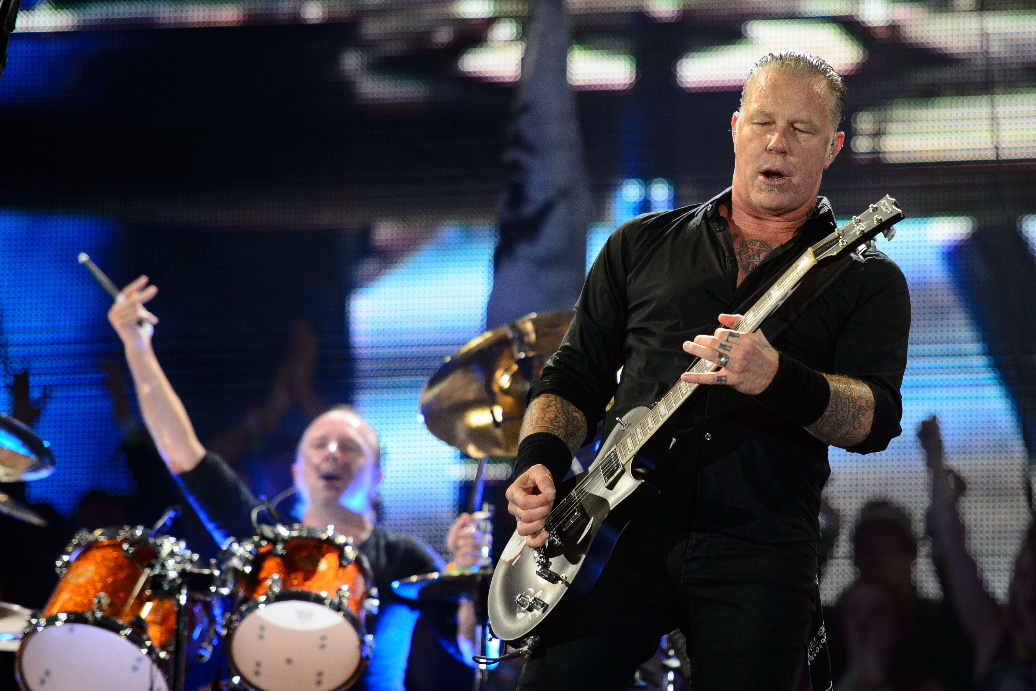 Glastonbury 2014: Metallica thrill armchair viewers as they 'prove their critics wrong'