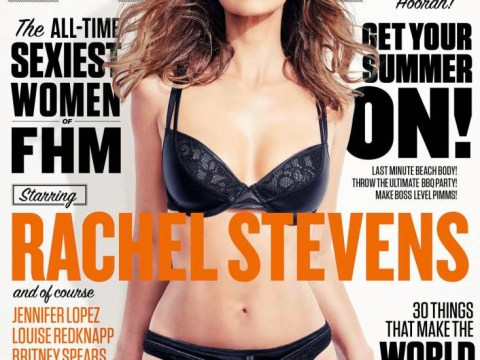 Rachel Stevens has been named FHM's sexiest woman OF ALL TIME
