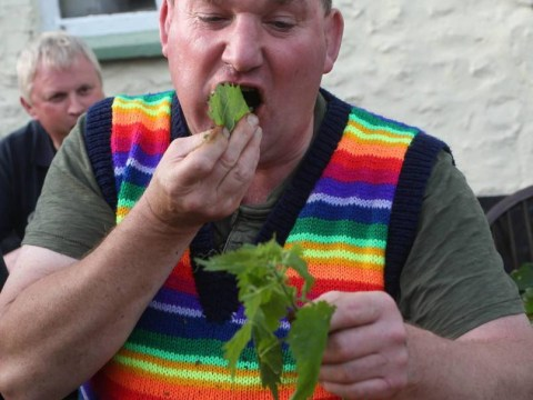 Man eats 80 feet of stinging nettles to win World Nettle Eating Championships