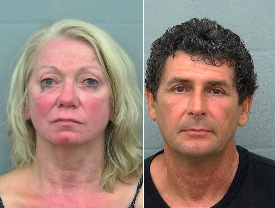 A 68-year-old woman and her younger paramour were arrested last week for having sex in a town square at a Florida retirement community, police report.nnResponding to calls about the 10:30 PM public tryst, sheriff¿s deputies discovered Margaret Ann Klemm and David Bobilya, 49, fully engaged in a pavillion at The Villages, a sprawling 55-and-older community in central Florida¿s Sumter County.nnAccording to investigators, when deputies arrived at Lake Sumter Landing--one of The Villages¿s three squares--Klemm (seen at right) was pantsless and had her shirt pulled down. Bobilya¿s pants and underwear were at his ankles.nnAfter Klemm and Bobilya--who appeared intoxicated--complied with police orders to put their clothes back on, they were arrested on indecent exposure and disorderly conduct charges for their June 2 romp.nnKlemm, a resident at The Villages, and Bobilya, who lives in nearby Summerfield, were briefly booked into the county jail on the misdemeanor counts (both were later released on $1500 bail). They are scheduled for arraignment on July 2, according to court records. Bobilya is pictured below.