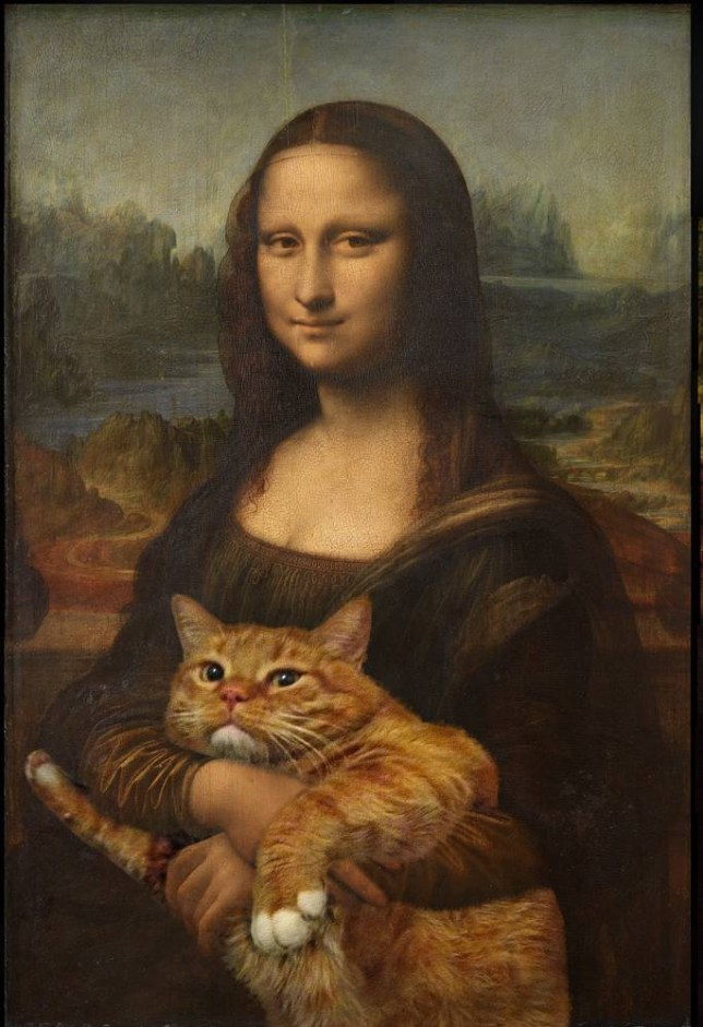 CAT ART Please put my credits that are Svetlana Petrova & Zarathustra the Cat (FatCatArt), and the links that are: to my site http://fatcatart.gallery and to the shop for buying pieces http://shop.fatcatart.com/?lang=en