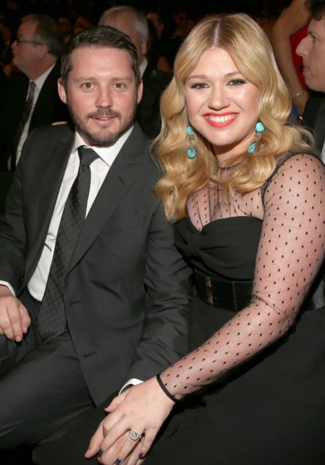 FILE - JUNE 14: Kelly Clarkson and her husband Brandon Blackstock welcomed their first child, a baby girl, on June 12, 2014. LOS ANGELES, CA - FEBRUARY 10:  Singer Kelly Clarkson (R) and Brandon Blackstock attend the 55th Annual GRAMMY Awards at STAPLES Center on February 10, 2013 in Los Angeles, California.  (Photo by Christopher Polk/Getty Images for NARAS)