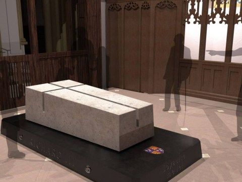 King Richard III's tomb design is revealed 529 years after his violent death
