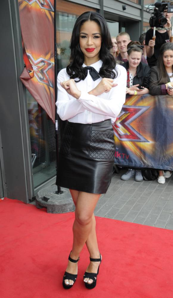 Another preppy Xtra Factor host! Sarah-Jane Crawford channels Caroline Flack as she makes a splash at X Factor auditions
