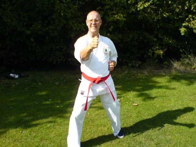 Professor Alan Thornton who was given an MBE in the honours list for 'services to martial arts' but appears to have applied for it and lied about his credentials. Ryan Kisiel Weekender