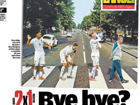 Brazilian newspaper Lance! sticks knife into sorry England after World Cup debacle