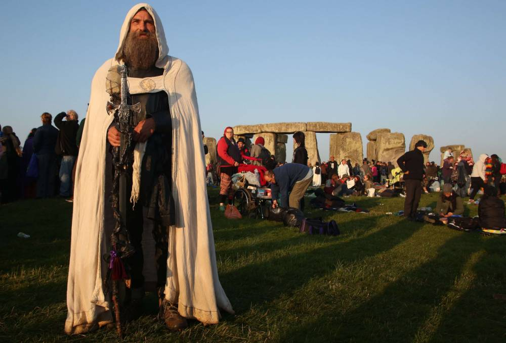 24 usual suspects who celebrated the summer solstice at Stonehenge this year