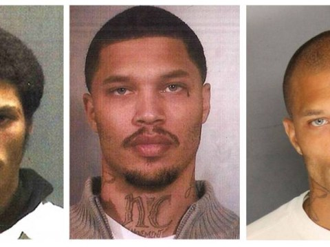 Jeremy Meeks took a few attempts to get his sexy selfie down…