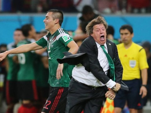 Miguel Herrera may be the best thing at World Cup 2014, and here are 13 pictures to prove it