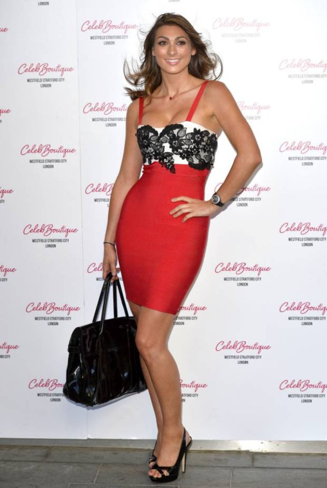 .. Mandatory Credit: Photo by Ray Tang/REX (2713029l).. Luisa Zissman.. CelebBoutique Store Launch Party at Westfield, London, Britain - 25 Jul 2013.. SAME OUTFIT AS LUCY MECKLENBURGH..