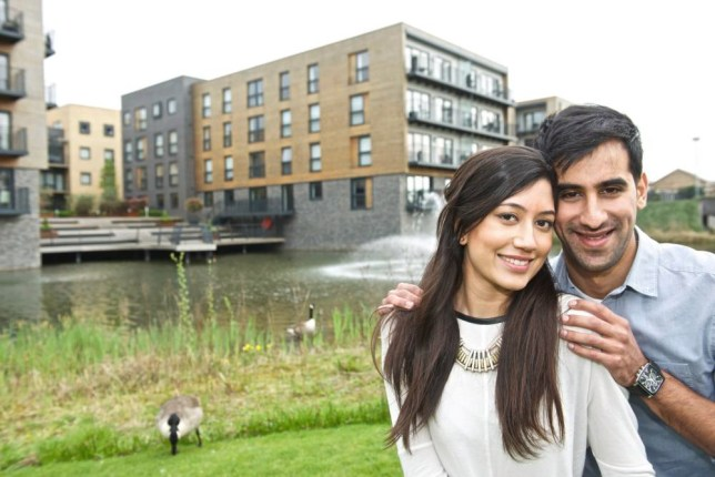Chandni and Milan are getting married in August  (Picture: Huw Evans)