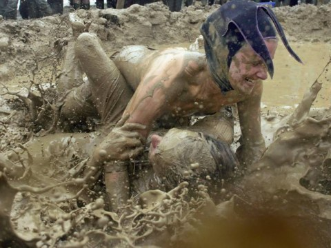 Glastonbury festival 2014: Mud, glorious Glastonbury mud through the years