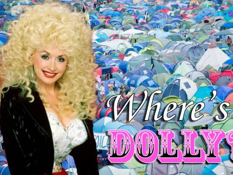 Missing Dolly Parton at Glastonbury? This Where's Dolly? game will cheer you right up