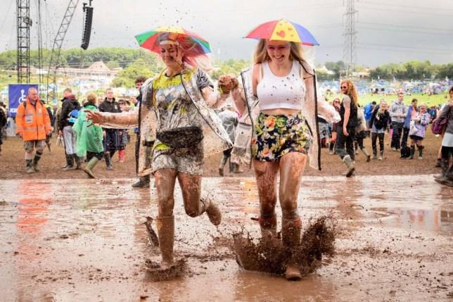 Glastonbury 2014: Mud