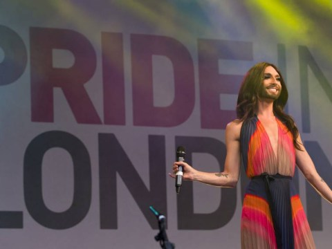 Eurovision winner Conchita Wurst wows the crowds at Pride London