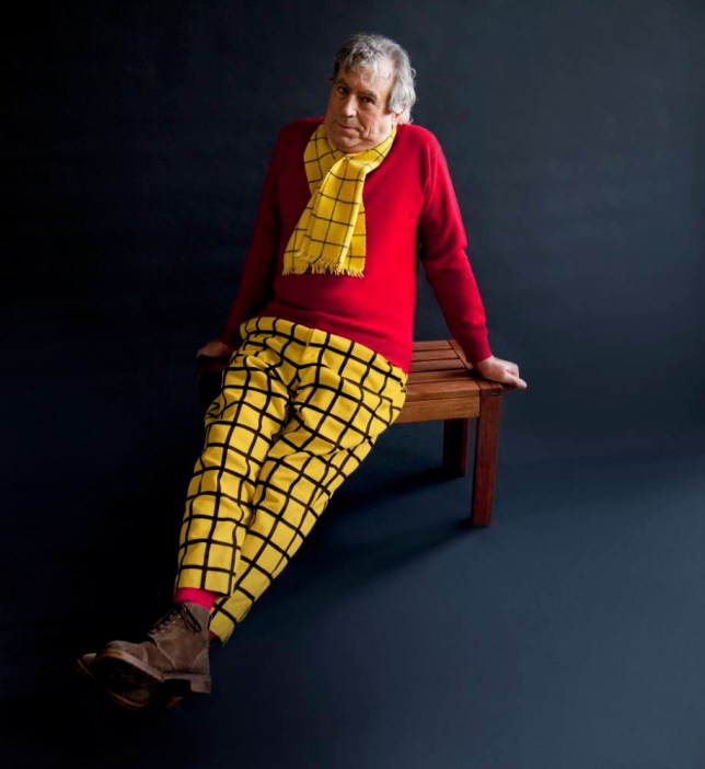 Terry Jones as Rupert The Bear (2).jpg Photographer Cambridge Jones has collaborated with The Story Museum for its latest exhibition which celebrates childhood story heroes and sees well-known authors dress up as their favourite literary characters.  All Photos: © Cambridge Jones