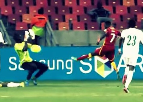 Check out Chelsea's Ghanaian star Christian Atsu as he impresses at the World Cup