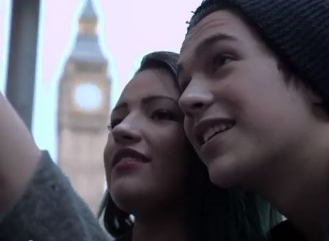 London (and Hollyoaks) sightseeing with Austin Mahone in his new Shadow video