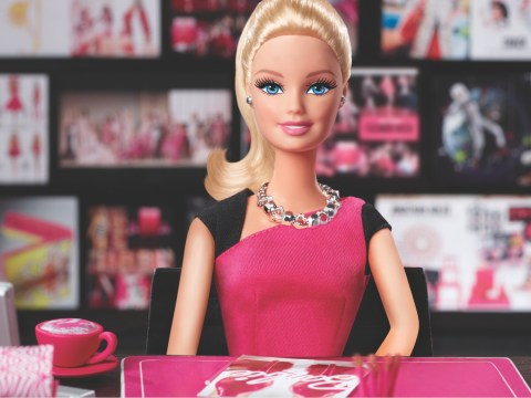 A Barbie girl in the Barbie world… with a company to run
