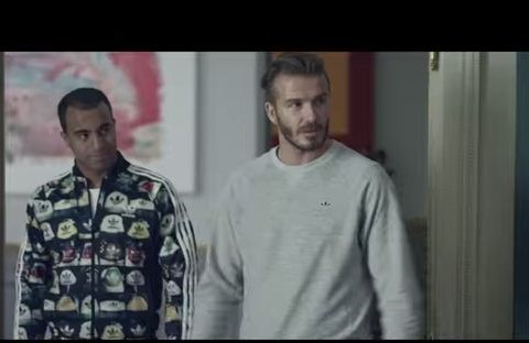 Zinedine Zidane trashes David Beckham's trophy collection in hilarious film