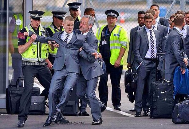 Tom Cleverley given hilarious Jason Bent treatment after England squad airport stunt