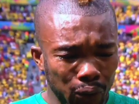 Serey Die bawls his eyes out during Ivory Coast national anthem, Twitter demands same from England stars