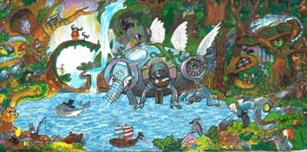 Audrey's impressive doodle (Picture: Google)