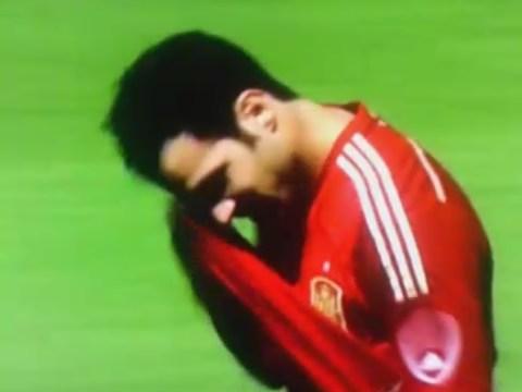 Cesc Fabregas suffers penalty shocker in World Cup warm-up against El Salvador